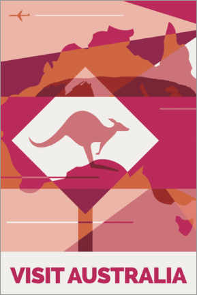 Wall sticker  australia - Nigel Sandor