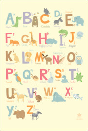 Petit Griffin - ABC for the nursery