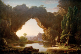 Thomas Cole - Evening in Arcady