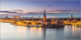 Evening in Stockholm