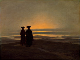 Caspar David Friedrich - Evening Landscape