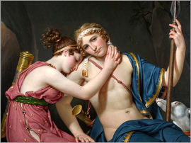 Jacques-Louis David - Farewell of Telemachus and Eucharis