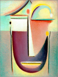 Alexej von Jawlensky - Abstract head: Archetype