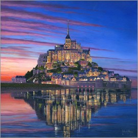 Richard Harpum - Mont Saint Michel Soir