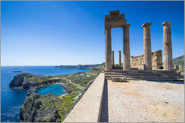 Michael Runkel - Acropolis of Lindos, Rhodes, Dodecanese Islands, Greek Islands, Greece, Europe