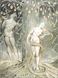 William Blake - Adam and Eve