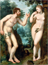 Peter Paul Rubens - Adam and Eve under the Tree of Knowledge