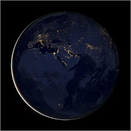 Nasa - Africa at night