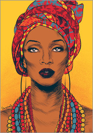 Paola Morpheus - African tribal woman