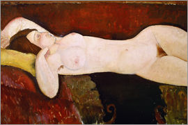 Amedeo Modigliani - Nude of a sleeping woman (Le Grand nu) 1917