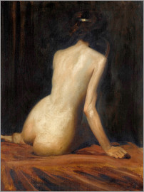 Albert Henry Collings - aktstudie