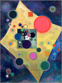 Wassily Kandinsky - Accent in Pink