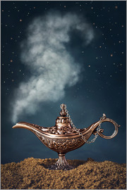 Elena Schweitzer - Aladdin magic lamp with smoke