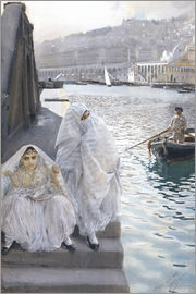 Anders Leonard Zorn - From Algiers Harbor
