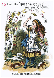 John Tenniel - Alice in Wonderland, page 15