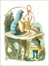 John Tenniel - Alice and the Caterpillar
