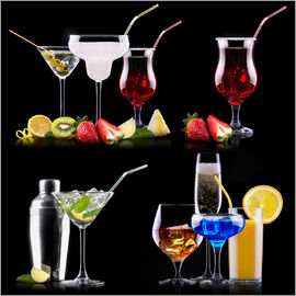 different alcohol drinks