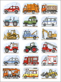Hugos Illustrations - All my cars