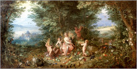 Jan Brueghel d.Ä. - Allegory of the Earth