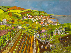 Judy Joel - Allotment above Mousehole