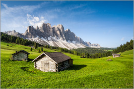 Roberto Sysa Moiola - Alpine hut, Caseril Alm, Funes Valley, South Tyrol, Italy