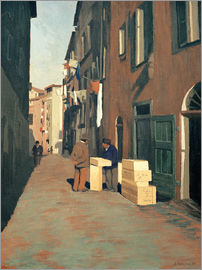 Felix Edouard Vallotton - Old Street in Nice