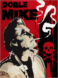 2ToastDesign - alternative doble mike death proof art print