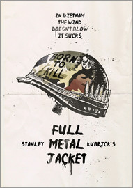 2ToastDesign - alternative full metal jacket fan art print