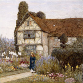 Helen Allingham - Old Manor House