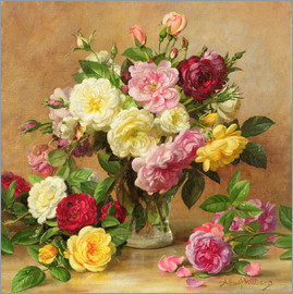 Albert Williams - Old Fashioned Victorian Roses