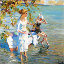 Edward Cucuel - At the bathing place