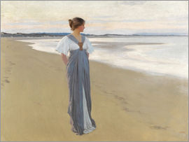 William Henry Margetson - On the sands