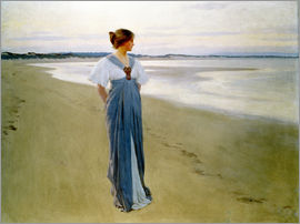 William Henry Margetson - The Seashore