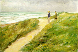 Max Liebermann - On the beach of Katwijk