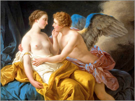 Louis Jean Francois Lagrenee - Amor and Psyche