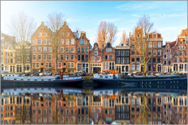 George Pachantouris - Amsterdam morning reflections
