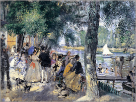 Pierre-Auguste Renoir - Bath in the Seine