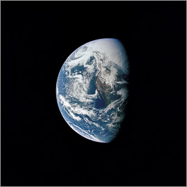 Stocktrek Images - View of Earth taken from the Apollo 13