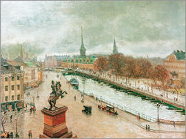 Arthur Nielsen - View of Copenhagen