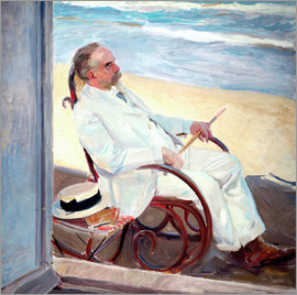 Joaquin Sorolla y Bastida - Antonio García at the Beach