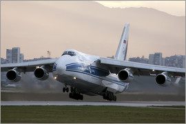 Anton Balakchiev - Antonov An-124 aircraft taking off from Sofia Airport
