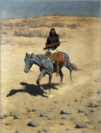 Frederic Remington - Apache Indian