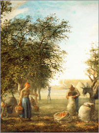Jean-François Millet - Apple harvest