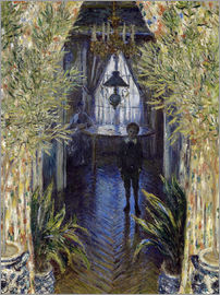 Claude Monet - Apartment with Jean Monet and Camille