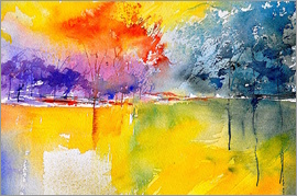 Pol Ledent - watercolor