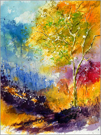 Pol Ledent - watercolour