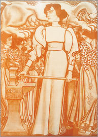 Jan Toorop - Work for women
