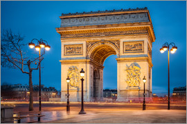 eyetronic - Arc de Triomphe in Paris