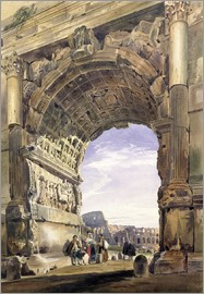 Thomas Hartley Cromek - Arch of Titus, Rome, 1842
