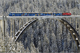 Olaf Protze - Arosa train | Langwies Viaduct